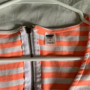 Old Navy Dresses - Old Navy Almost Brand New Bright Peach Dress